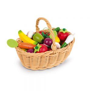 Panier de 24 Fruits Et LégumesPanier de 24 Fruits Et Légumes PANIER DE 24 FRUITS ET LÉGUMES - janod