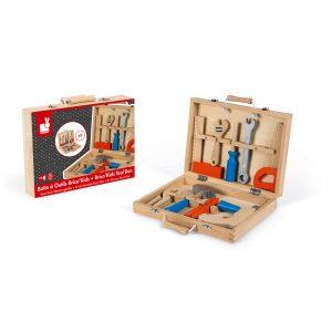 Boite à outils Brico'Kids (bois)Boite à outils Brico'Kids (bois)Boite à outils Brico'Kids (bois)Boite à outils Brico'Kids (bois)Boite à outils Brico'Kids (bois) BOITE À OUTILS BRICO'KIDS - janod