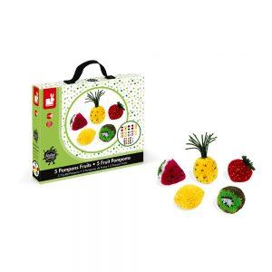 Pompons fruitsPompons fruitsPompons fruitsPompons fruitsPompons fruits POMPONS FRUITS - janod