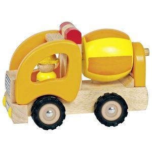 camion toupie bois