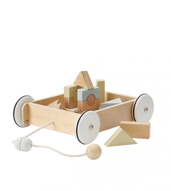 Chariots avec blocs