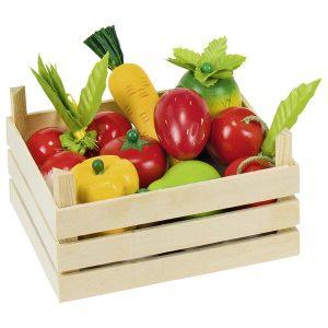 Fruits et légumes en cagette