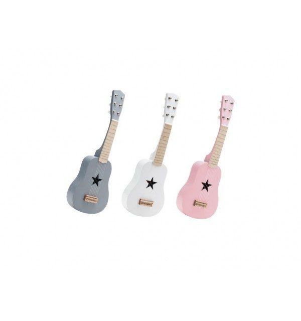 guitare en bois rose