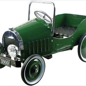 voiture à pédale verte