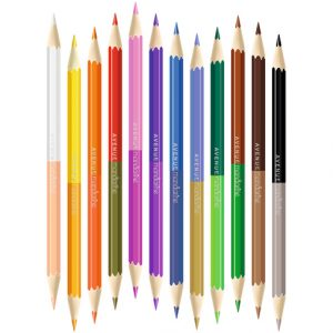 crayons doubles mines