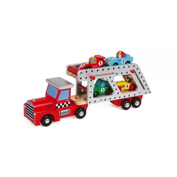 camion à voitures