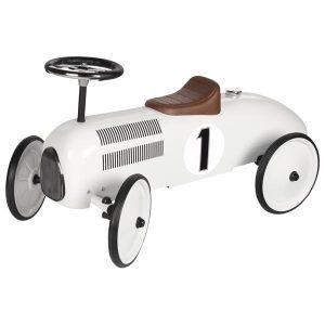 porteur voiture blanc