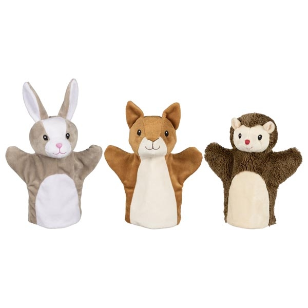 marionnettes animaux forêt