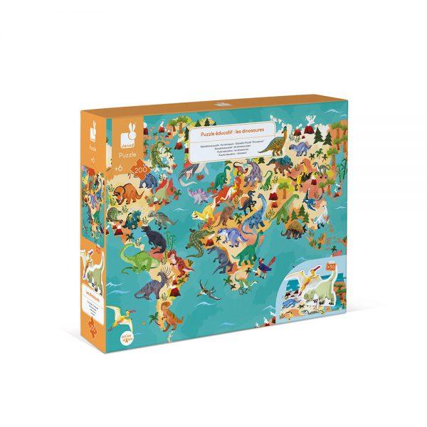 puzzle-educatif-geant-dinosaures-200-pcs