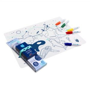 set-de-table-a-colorier-avec-5-feutres-et-un-bracelet-sur-la-banquise